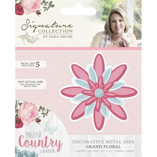 English Country Garden Dies Crafters Companion Sara Signature various