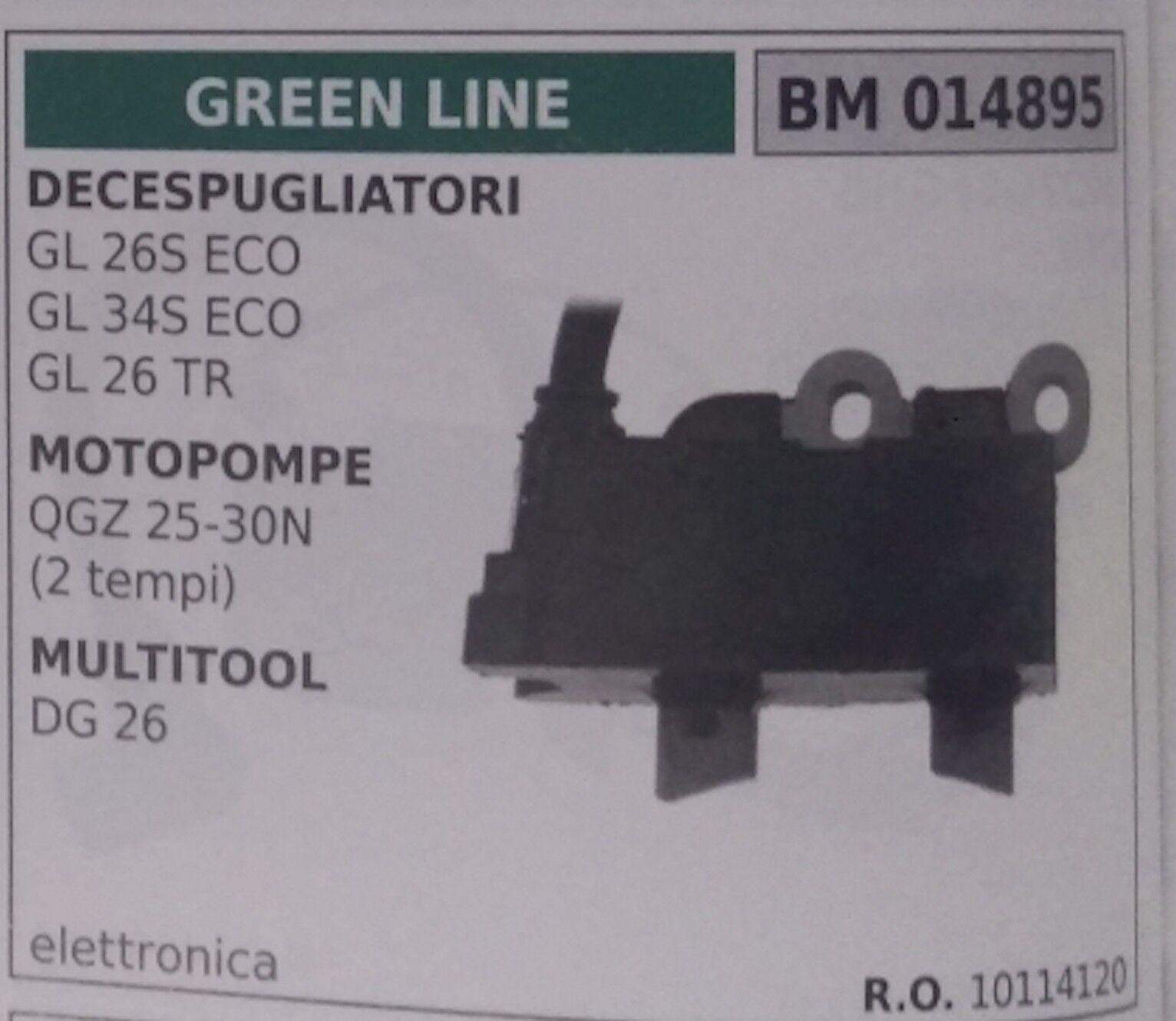 10114120 Bobina Electrónica Motobomba Bomba Pulverizadores verde Line Qgz 25 30