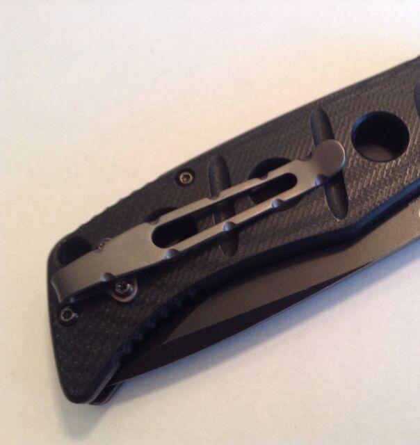 Titanium Clip Compatible With Benchmade Adamas Sibert 275bk 275sbk 275bksn  Knife