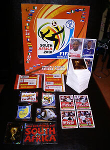 PANINI-WM-2010-WC-ALBUM-640-Sticker-KOMPLETT-Klose-Salto-2-Tueten-80-Update