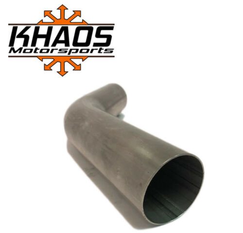 "2.5/"" 2-1//2/"" 45 Degree 304 Stainless Steel Mandrel Bend Exhaust Tubing 2 Pack"