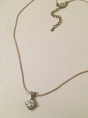 Accessorize Colore Argento Diamantati Dichiarazione Collana Regalo Di Natale Nuovo Di Zecca Party-mostra Il Titolo Originale