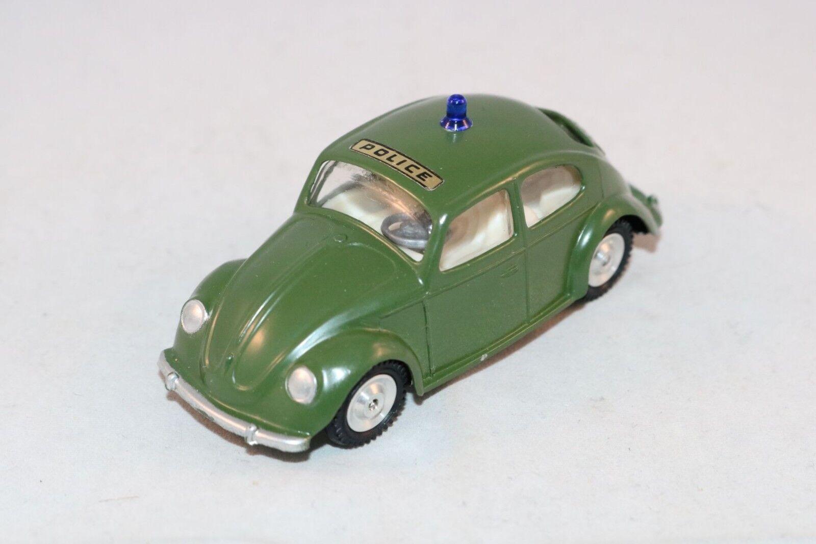 GAMA very rare old Volkswagen Kafer beetle Police 1 43 Raritat selten raro