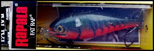 color VERY RARE RAPALA FAT RAP DEEP RUNNER FR 7 cm RCW Red Crawdad IRELAND!