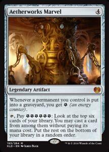 Aetherworks Marvel x4 PL Magic the Gathering 4x Kaladesh mtg card lot