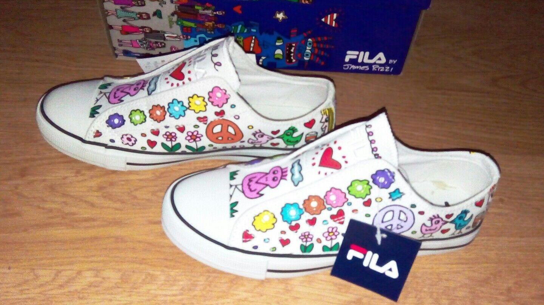 Fila by James Rizzi Chucks Sneakers Gr. 37
