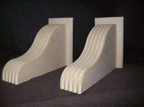 wooden corbels,handcrafted,,large,mantle,fireplace,shelf,shelves,unprimed,mdf