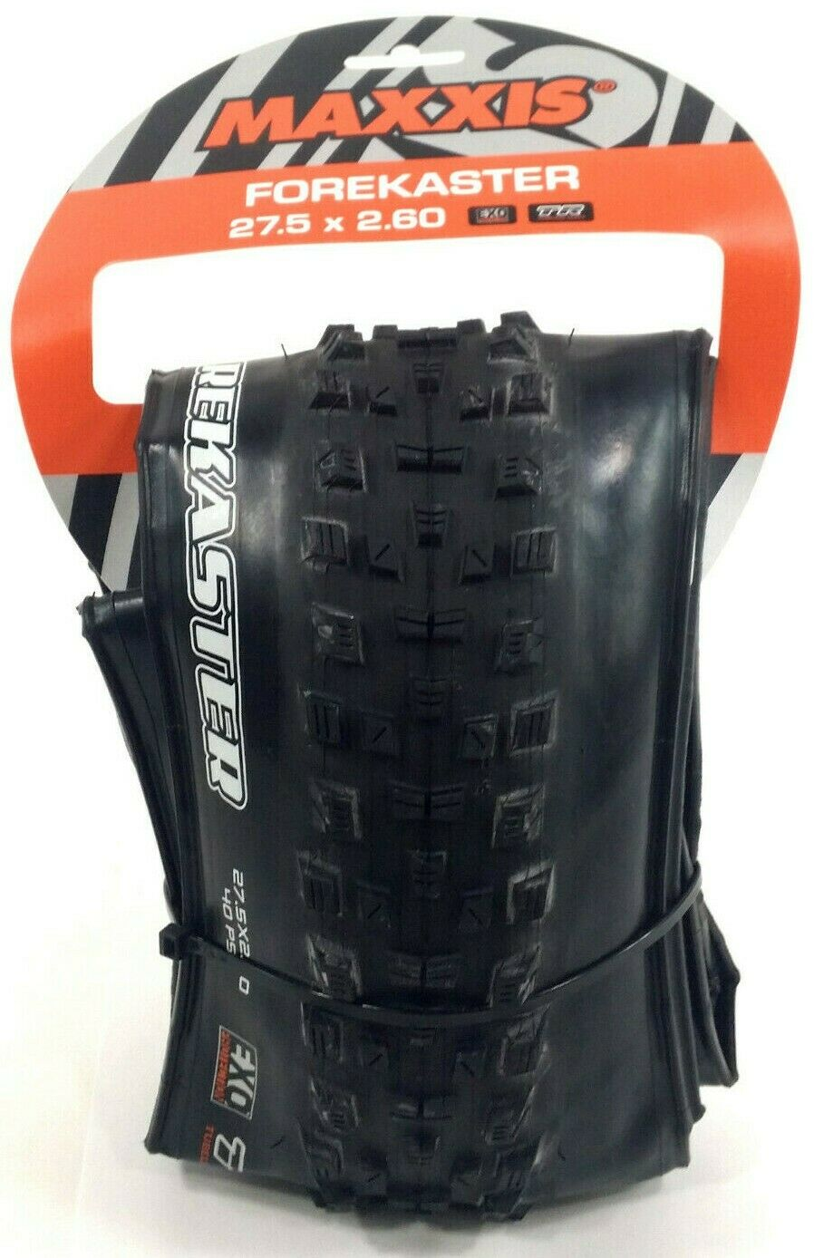 Maxxis Forekaster 27.5 x 2.6 Folding Mountain Bike Tire DC Exo TR