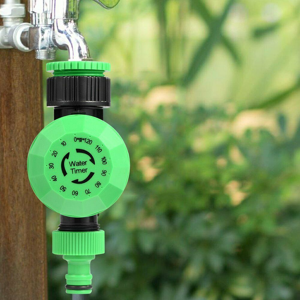 2Hours Automatic Irrigation Timer Mechanical Timer for Yard Garden Irrigation L