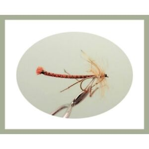 8 Pack Daddy Long Legs Trout Fly Black Detached Fly Fishing Flies Size 10 hook