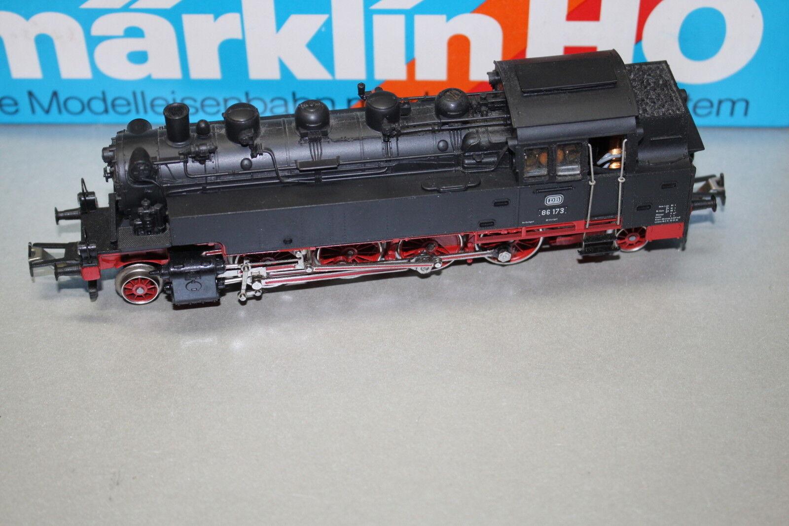 Märklin 3096 máquina de vapor serie 86 3-escalera corriente continua pista h0 OVP