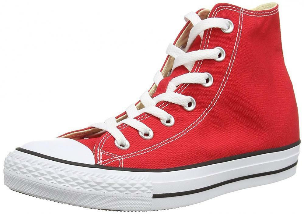 Converse Unisex Chuck Taylor All-Star High-Top Casual Sneakers in Classic...