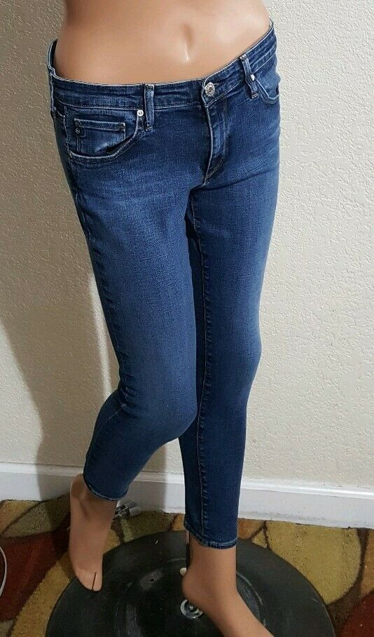 WOMENS AG ADRIANO goldSCHMIED THE LEGGING ANKLE JEANS  29 X 28