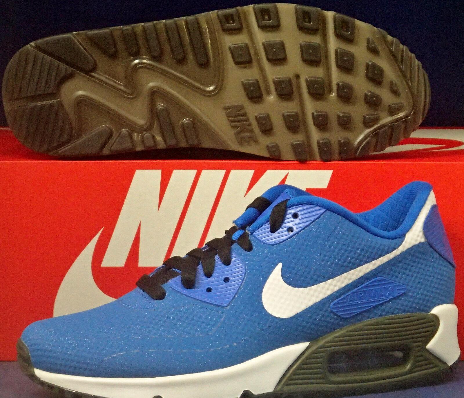 Nike Air Max 90 Hyperfuse Premium iD bluee Youth SZ 4.5Y    Womens 6 (822641-997)