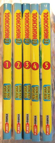 """/""""Real bout Highschool/"""" Bände 1 bis 5 Planet Manga 2003-2005 Aussuchen!"""