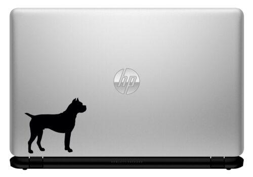 VINYL STICKER FOR CAR LAPTOP /& MORE DOG, CANINE, PET, ANIMAL BOXER