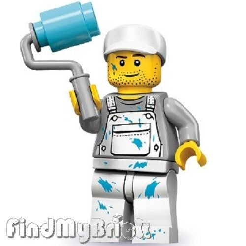 Lego 71001 Minifigure Series 10 -  Decorator Painter - NEW