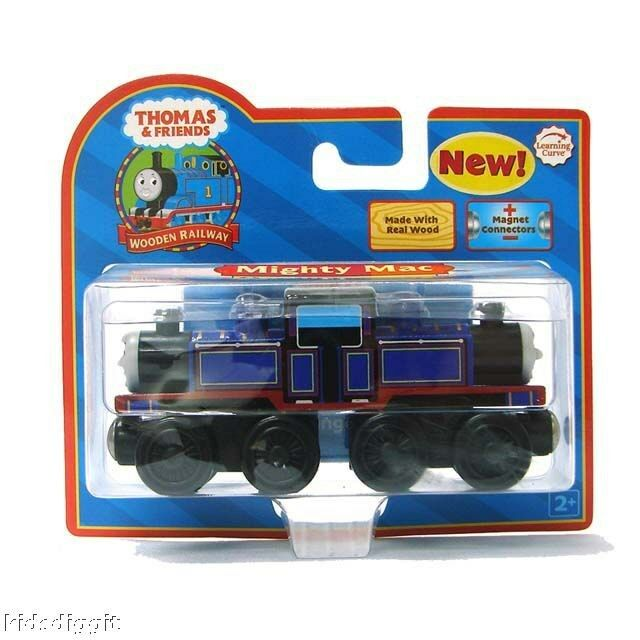 Thomas The Tank Friends Wooden Railway Mighty Mac Train Learning Curve Lc99032