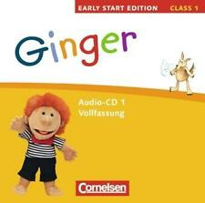 Ginger - Early Start Edition: Band 1: 1. Schuljahr - Lieder-/Text-CDs (Vollfassu