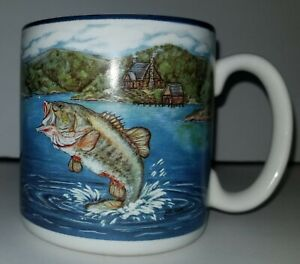 Large-Mouth-Bass-Fish-Fishing-Mancave-Coffee-Mug-Cup-By-Flowers-Inc-Balloons