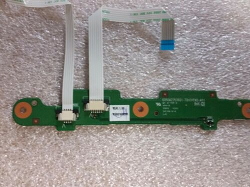 TOSHIBA Satellite L505 Series Laptop Mouse Buttons TouchPad Board w// Ribbon CB
