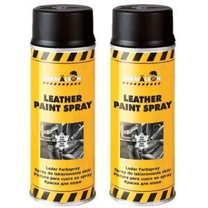 Lederfarbspray 400ml zum Umfärben (400ml Spray, Weiß