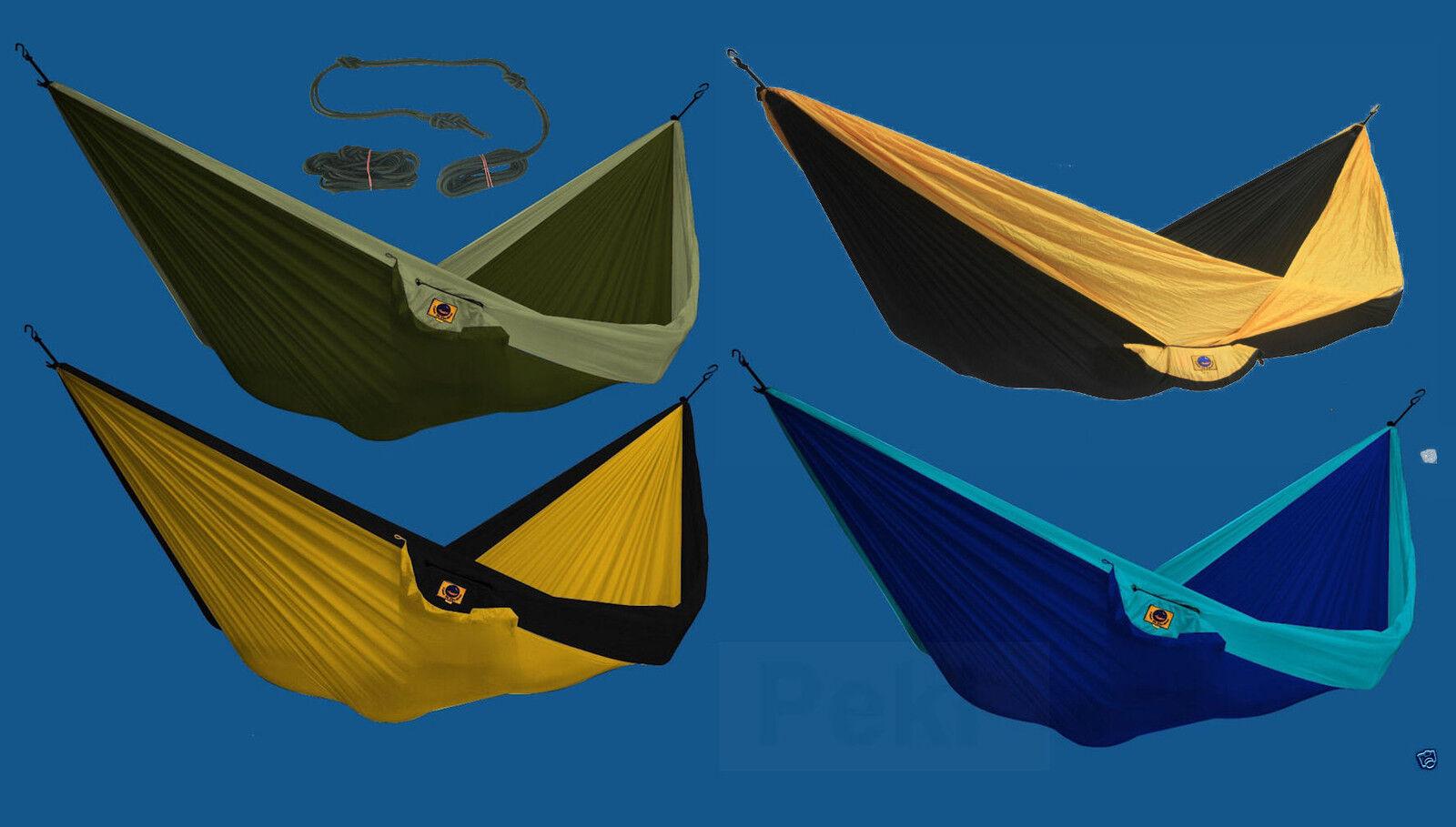 TTTM Doppelhängematte Reisehängematte Hängematte bis 200  kg oder Seil Auswahl  check out the cheapest