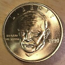 Dwight D. Eisenhower Bronze, Plated,Medal From 1990 (#X234)