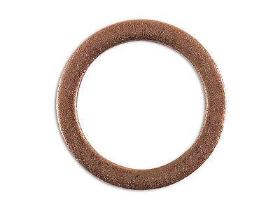 Bouchon Carter Rondelle en Cuivre 22mm x 27mm x 1.5mm Paquet 10 36808 Connect