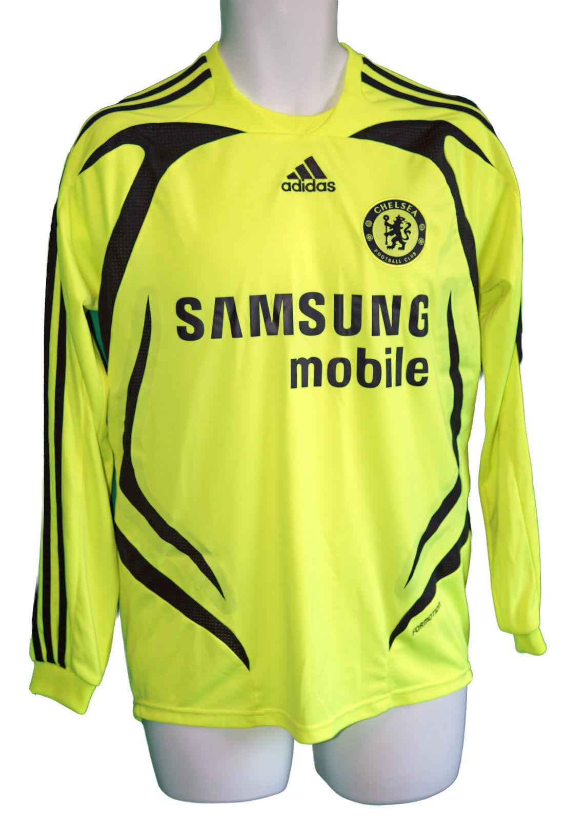 nuovo Autentico adidas Chelsea Calcio Giocatore Problema Camicia Formotion a L