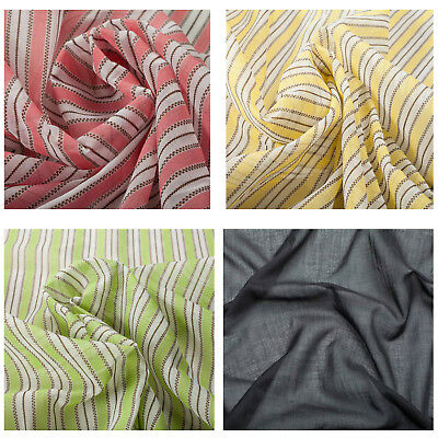 100/% Cotton Patterned Quality Fabric Dress Upholstery Fashion Craft Summer