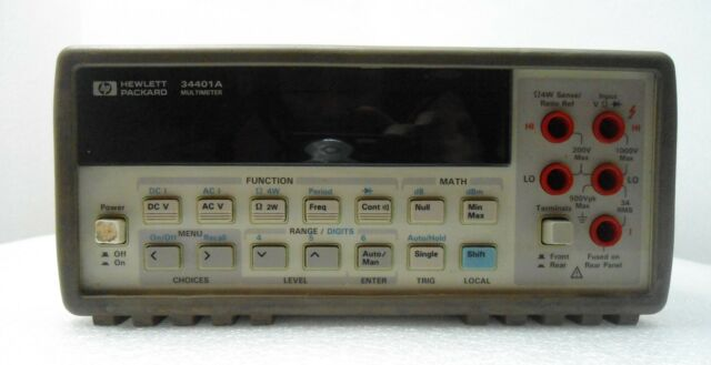 HP 34401A - For Parts / Repair