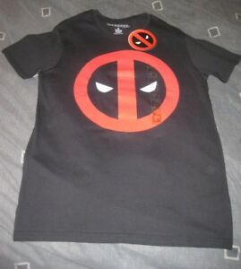 Deadpool-Official-Marvel-T-Shirt-Size-S-Brand-new-with-tags