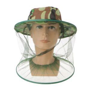Beekeeping-Mesh-Net-Veil-Beekeepers-Bee-Honey-Hat-Cap-Head-Face-Protector