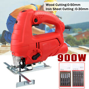 220v 900w Powerful Electric Jigsaw Wood Timber Iron Cutting