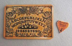 image is loading dollhouse miniature halloween skull theme ouija board set