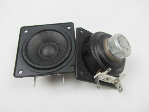 """2pcs 2/"""" inch 4Ohm 10-20W Full Range Audio Speaker Neodymium Magnet Loudspeaker"""