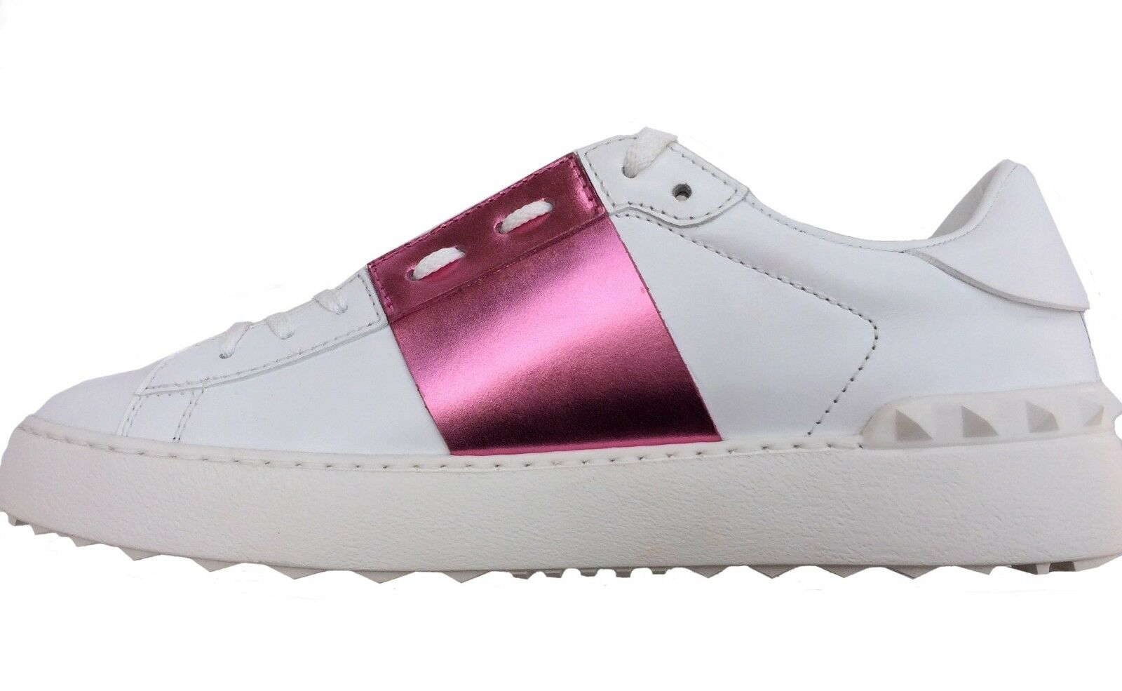 Valentino Garavani Rockstud Sneakers Trainers shoes Size 40   7 UK White