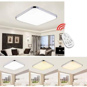 36W LED Deckenleuchte Schlafzimmer Deckenlampe Bad Flur Küche lampe ...