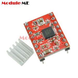 A4988 módulo de Controlador de motor paso a paso Stepstick 3D Impresora polulu rampas RepRap D8X5
