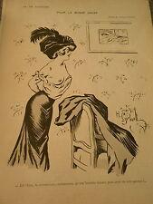 Pour la Bonne Cause avoir de jolis genoux Sains Nue Gerlbaut Print Art Déco 1909