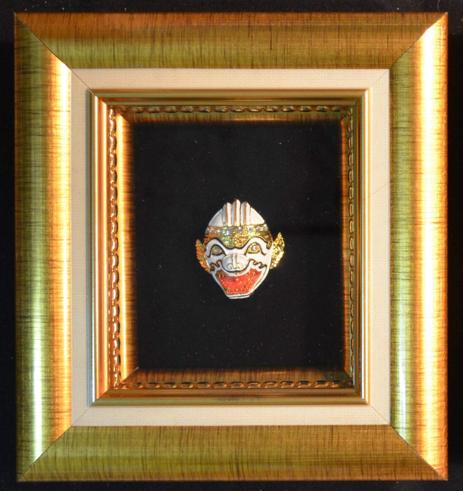La La La thaïlande Khon masque Div. types et broche en or très haute qualité   Belle    Sale Online    En Ligne  7b8e16