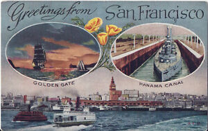 Postcard ca california greetings from san francisco golden gate image is loading postcard ca california greetings from san francisco golden m4hsunfo