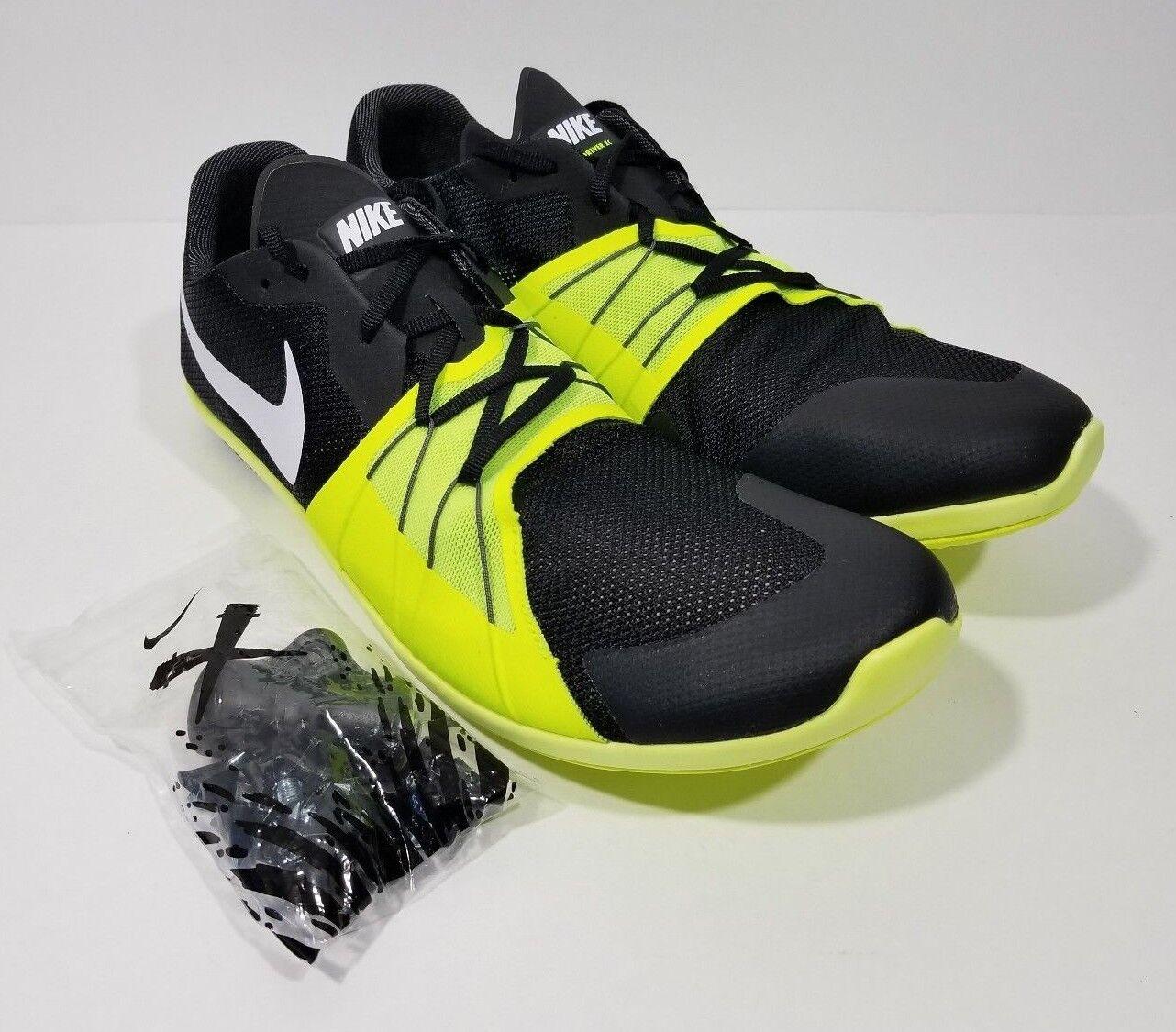 Nike zoom sempre 5 xc Uomo traccia 10,5 spike nero volt dimensioni 10,5 traccia ce21d8