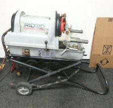 Ridgid 1822 I Auto Chuck 12 2 Pipe Threader Threading Machine With Stand