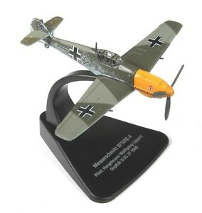 OXFORD-AVIATION-AC002-1-72-SCALE-MESSERSCHMITT-BF109E-4-DIECAST-AIRCRAFT