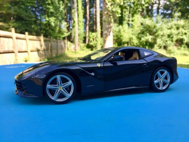 Ferrari F12 Berlinetta Blue 1/18 Diecast Model Car by Hot Wheels BCJ73 for sale online | eBay