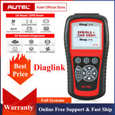 Autel Diaglink Obdii Code Reader Full Systems Diagnostic Scanner Abs Srs Epb Oil