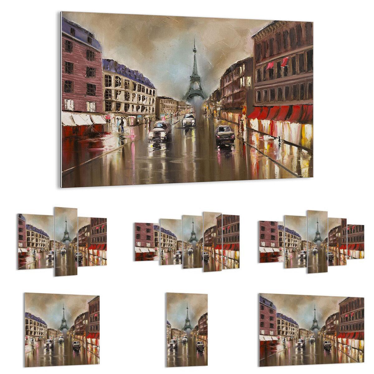 GLASS PRINTS Image Wall Art Paris tower street 3431 UK