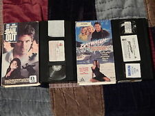Bail Out + Baywatch - White Thunder At Glacier Bay (VHS x 2) Hasselhoff_Electra